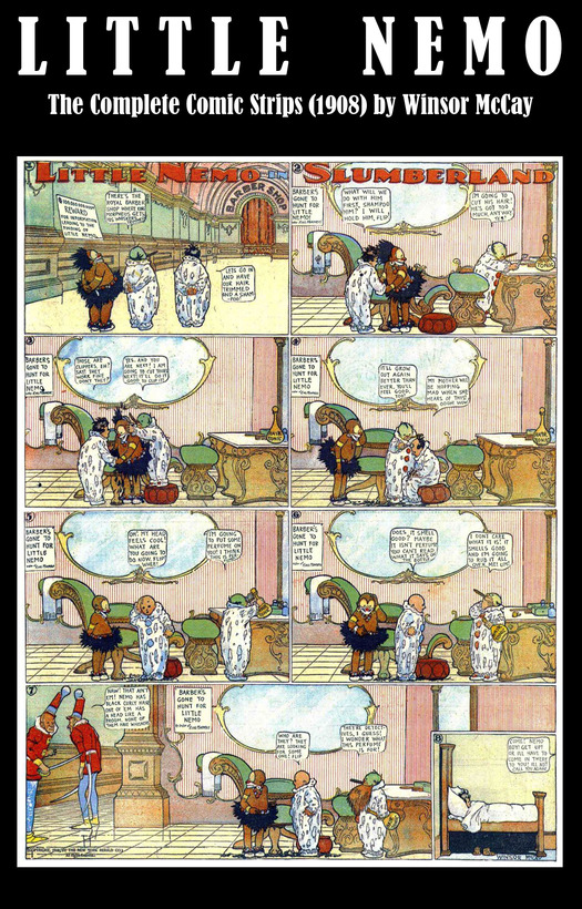 Little Nemo - The Complete Comic Strips (1908) by Winsor McCay (Platinum Age Vintage Comics) By: Winsor Mccay