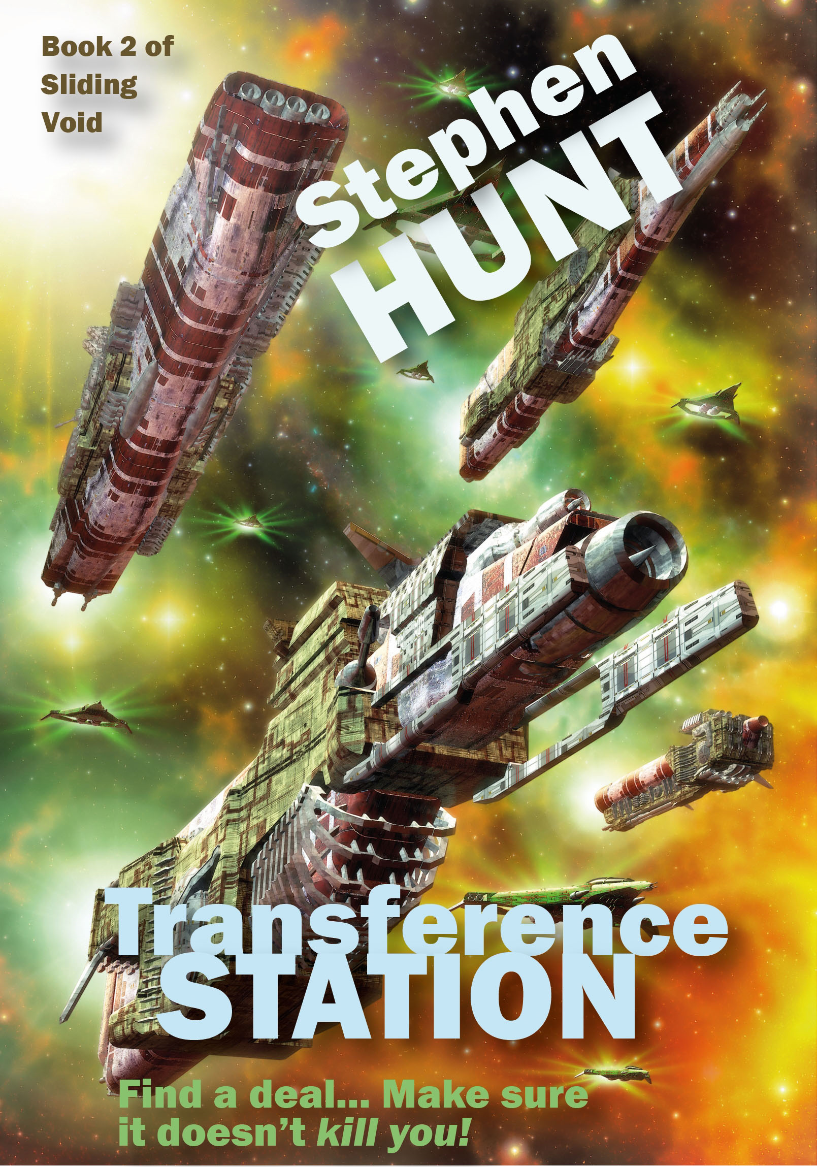 Transference Station By: Stephen Hunt