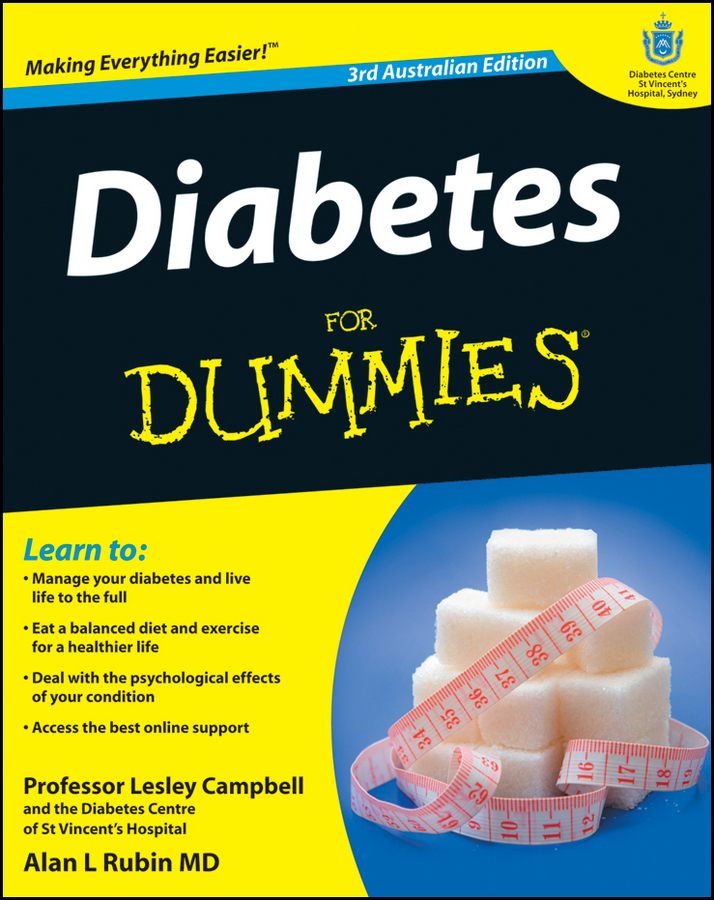 Diabetes For Dummies By: Lesley Campbell,Rubin