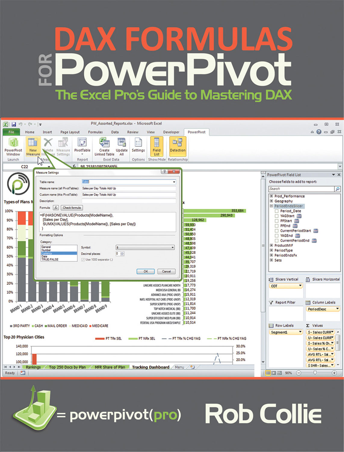 Book Cover: DAX Formulas for PowerPivot