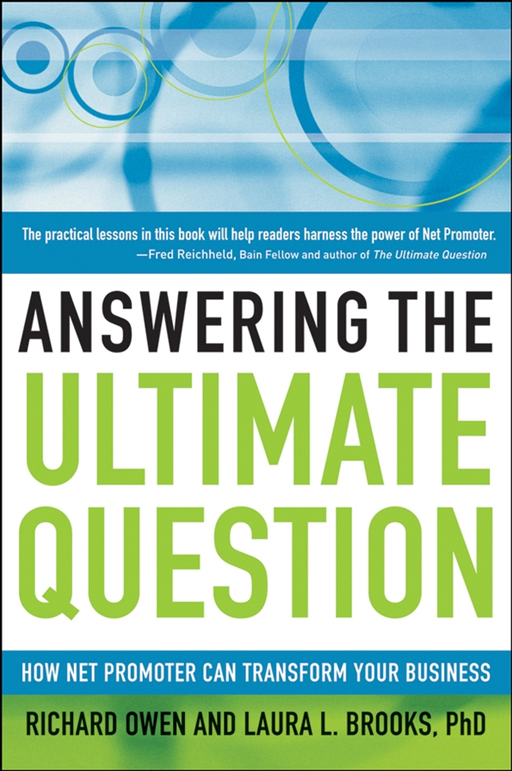 Answering the Ultimate Question By: Laura L. Brooks PhD,Richard Owen