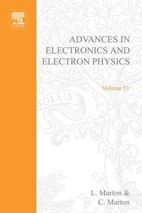 ADV ELECTRONICS ELECTRON PHYSICS V51 By: AUTHOR, UNKNOWN