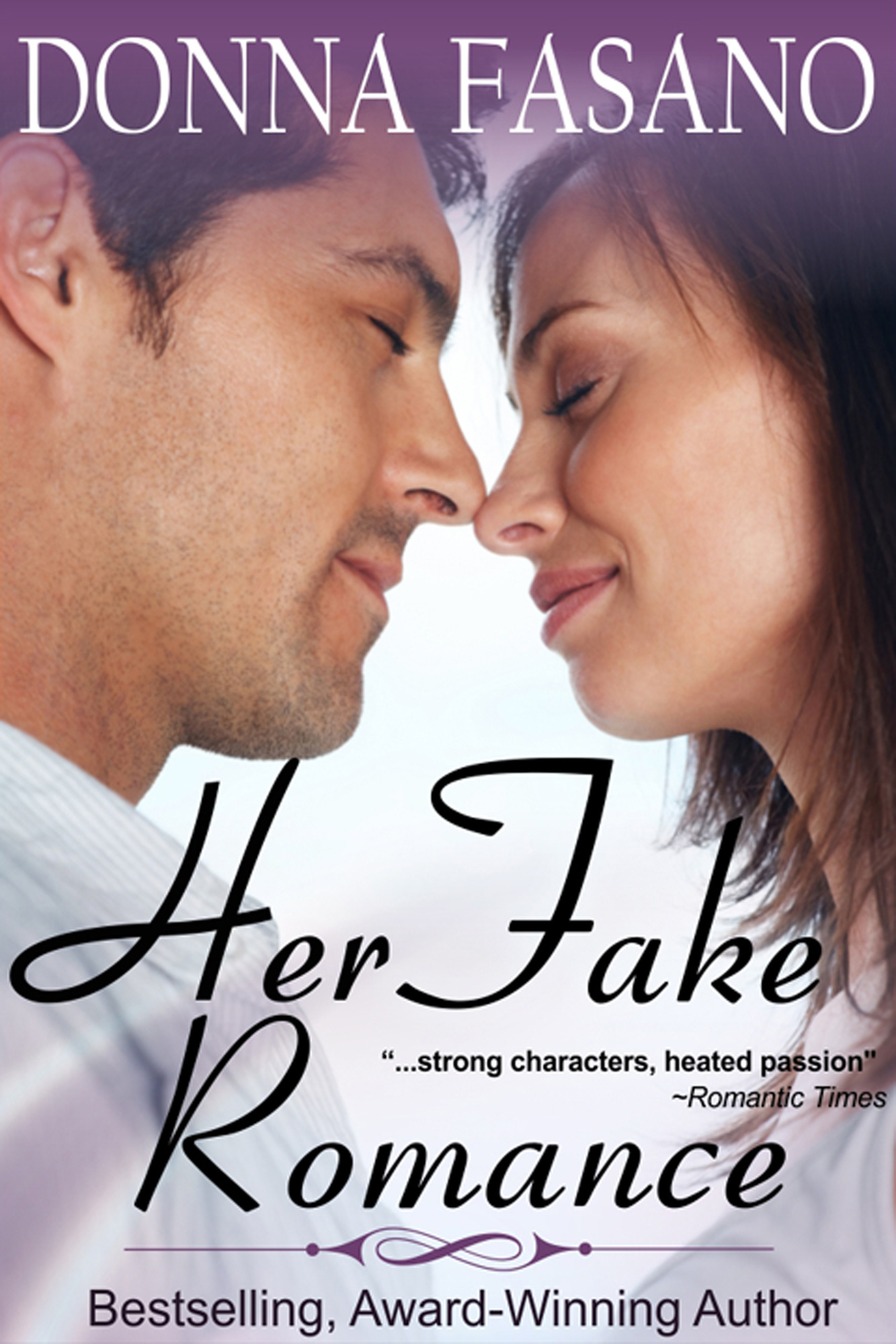 Her Fake Romance (a sweet romance with bonus recipes)