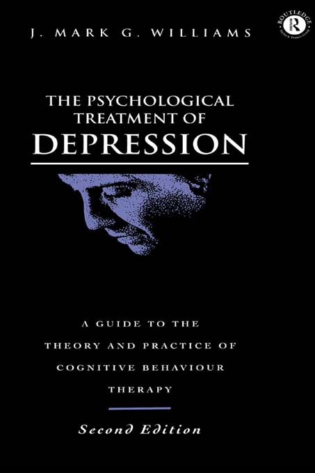 The Psychological Treatment of Depression