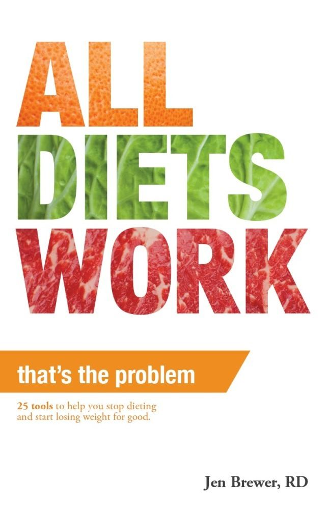 All Diets Work That's the Problem! By: Jen Brewer
