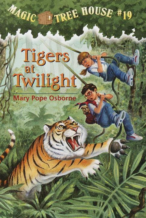 Magic Tree House #19: Tigers at Twilight