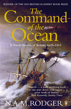 The Command of the Ocean A Naval History of Britain 1649-1815