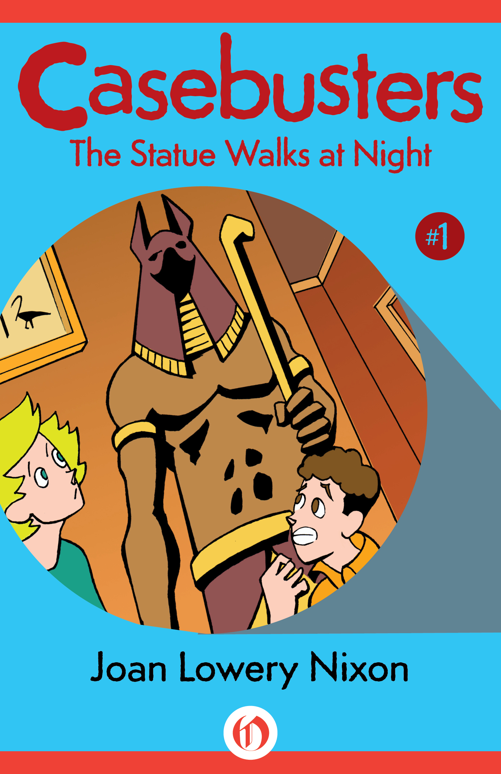 The Statue Walks at Night: Casebusters #1