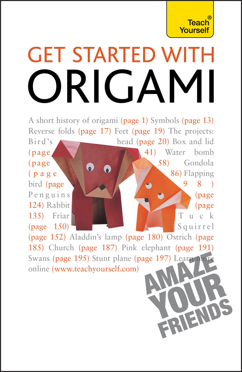 Get Started with Origami By: Robert Harbin