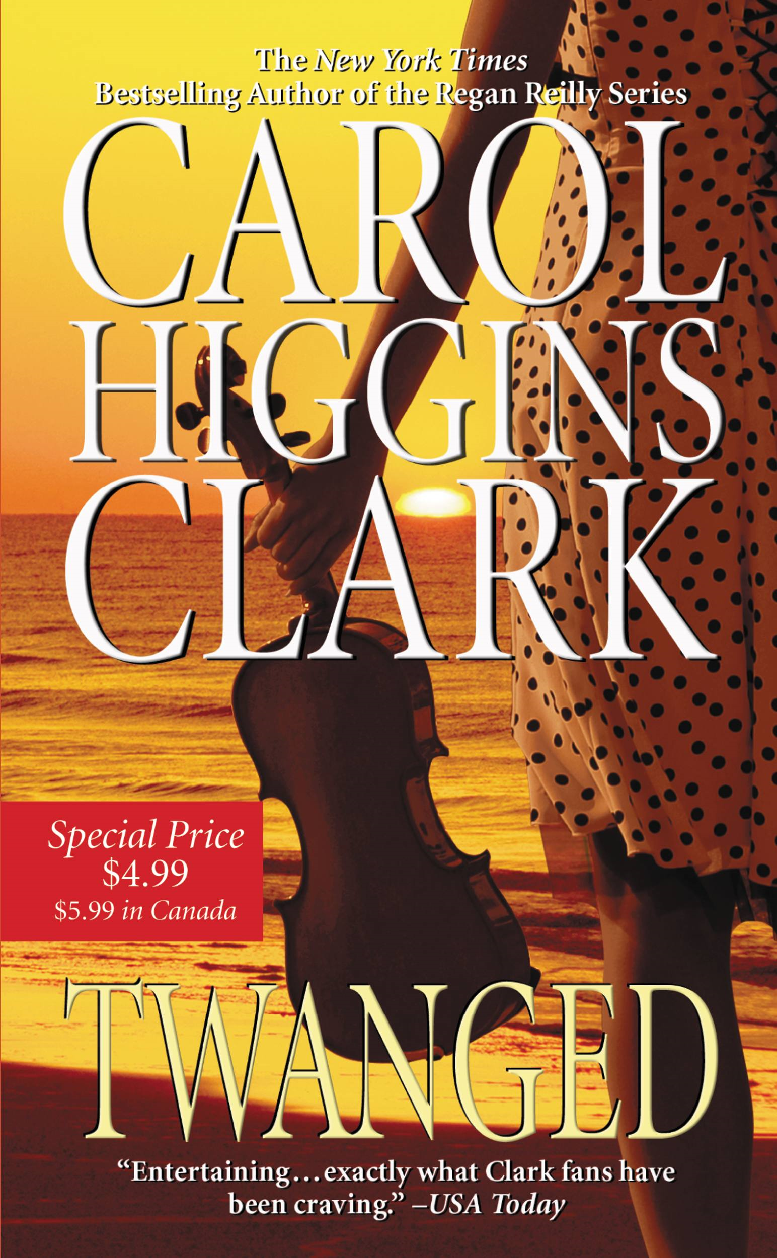 Twanged By: Carol Higgins Clark