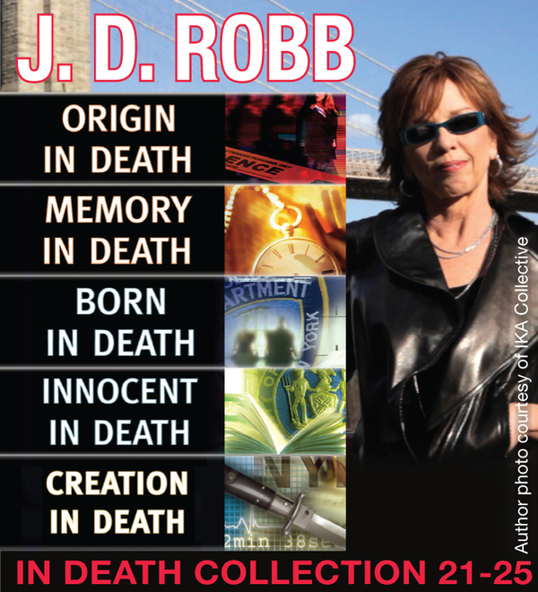 J.D. Robb IN DEATH COLLECTION books 21-25 By: J. D. Robb
