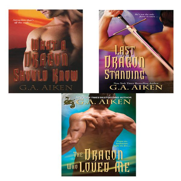 G.A. Aiken Bundle: The Dragon Who Loved Me, What a Dragon Should Know, & Last Dragon Standing By: G.A. Aiken