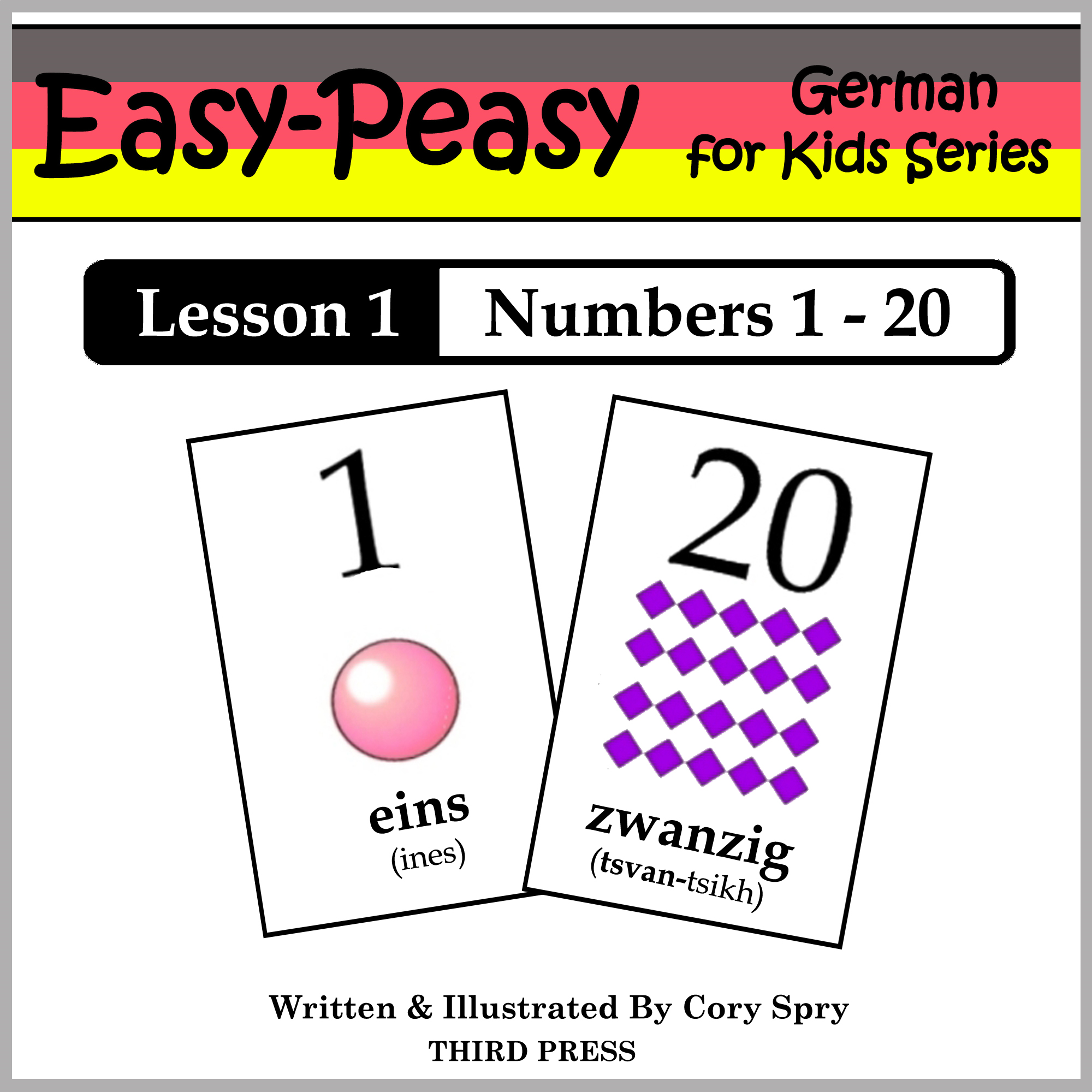 German Lesson 1: Numbers 1 to 20