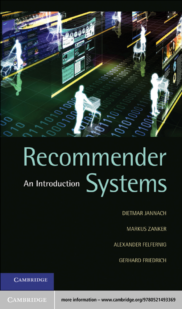 Recommender Systems An Introduction