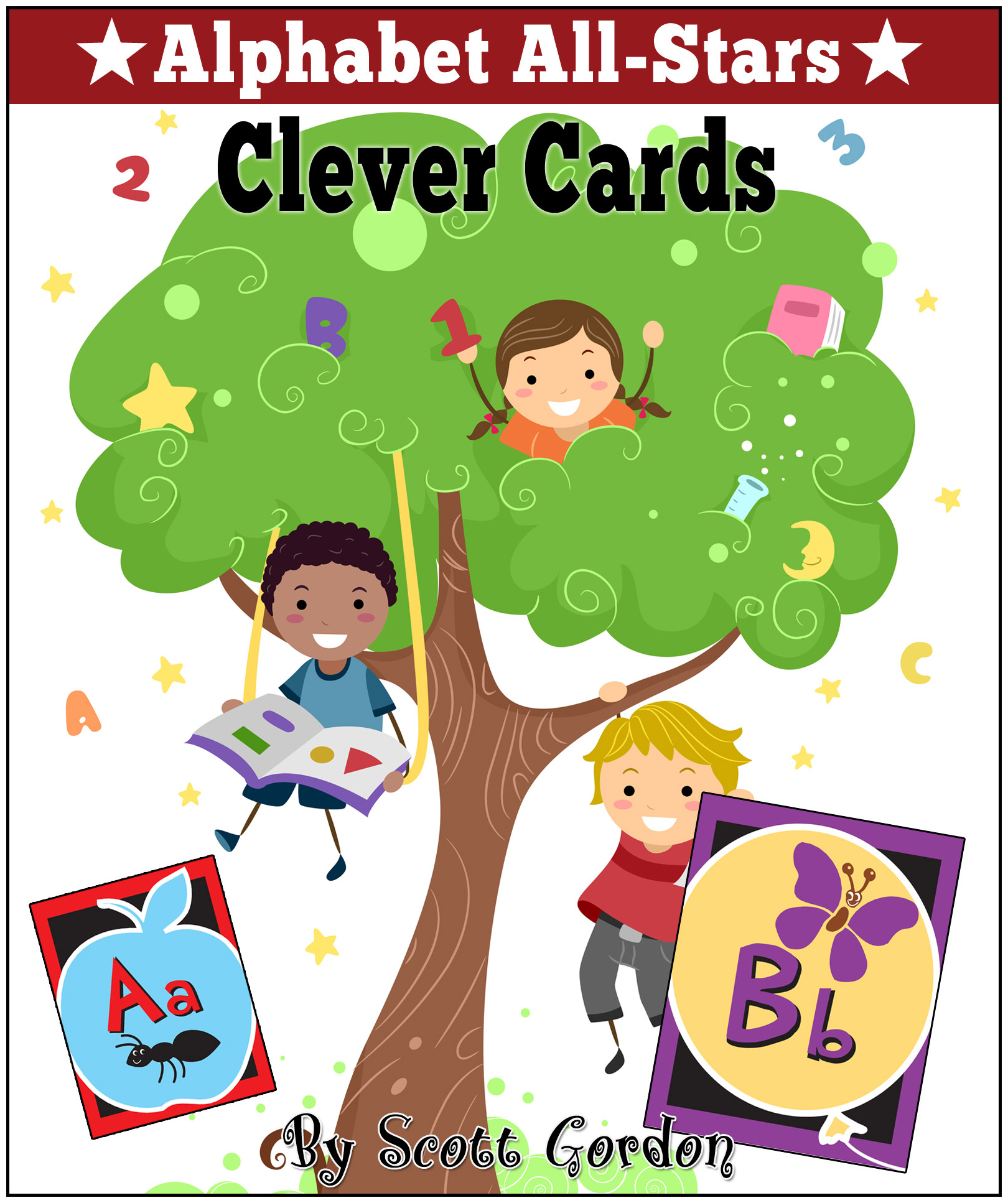 Alphabet All-Stars: Clever Cards