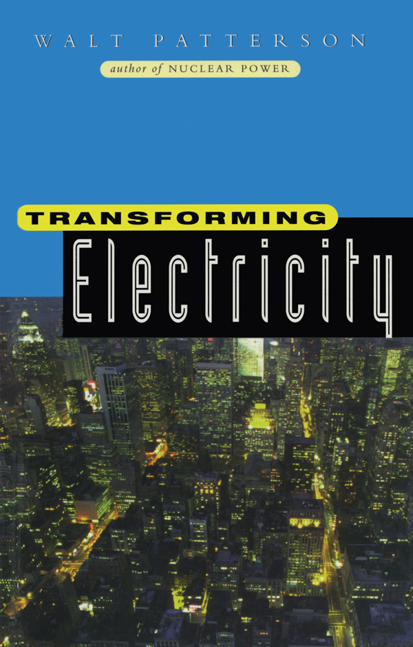 Transforming Electricity The Coming Generation of Change