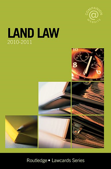 Land Lawcards 2010-2011 By: Routledge