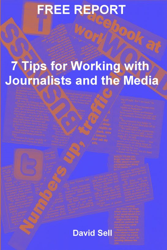 Free Report: 7 Tips For Working With Journalists And The Media