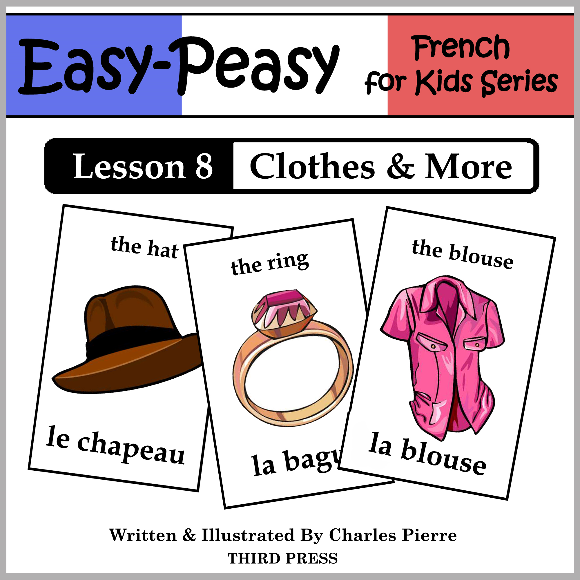 French Lesson 8: Clothes, Shoes, Jewelry & Accessories