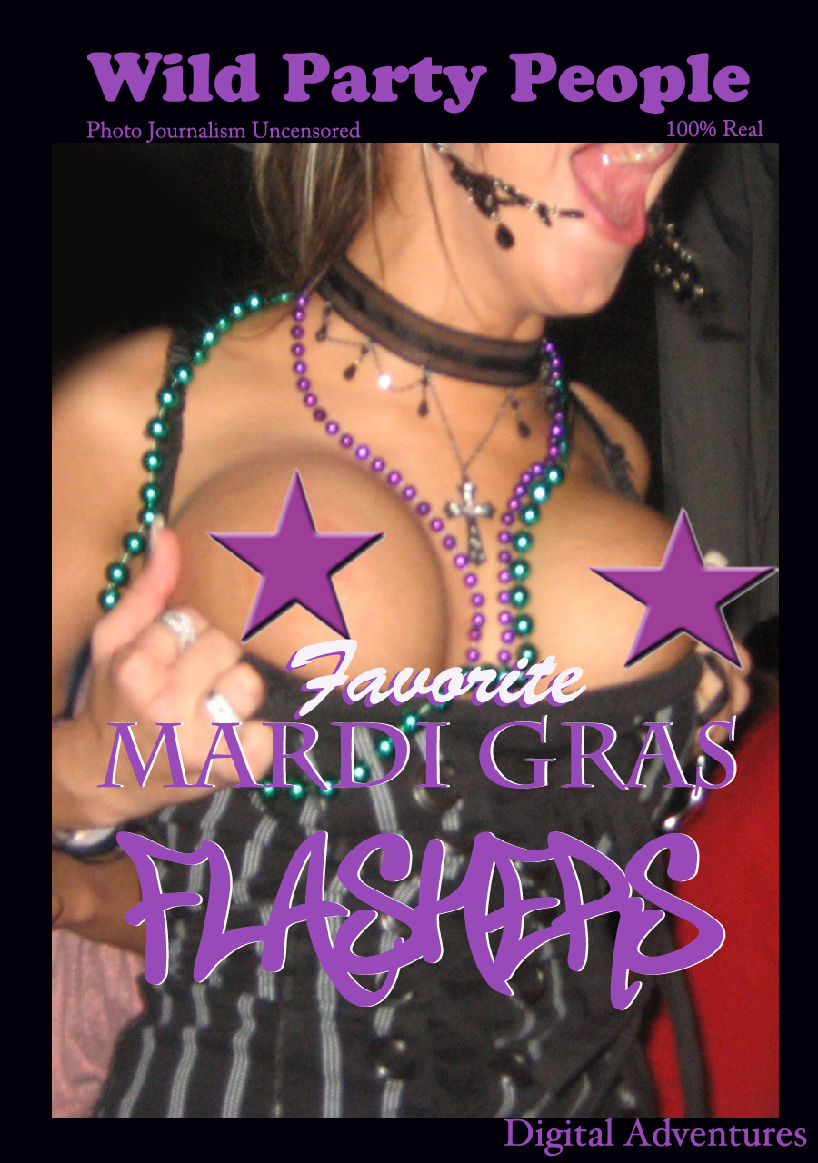 Wild Party People - Favorite Mardi Gras Flashers