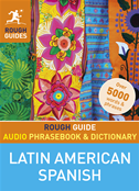 Rough Guide Audio Phrasebook And Dictionary - Latin American Spanish