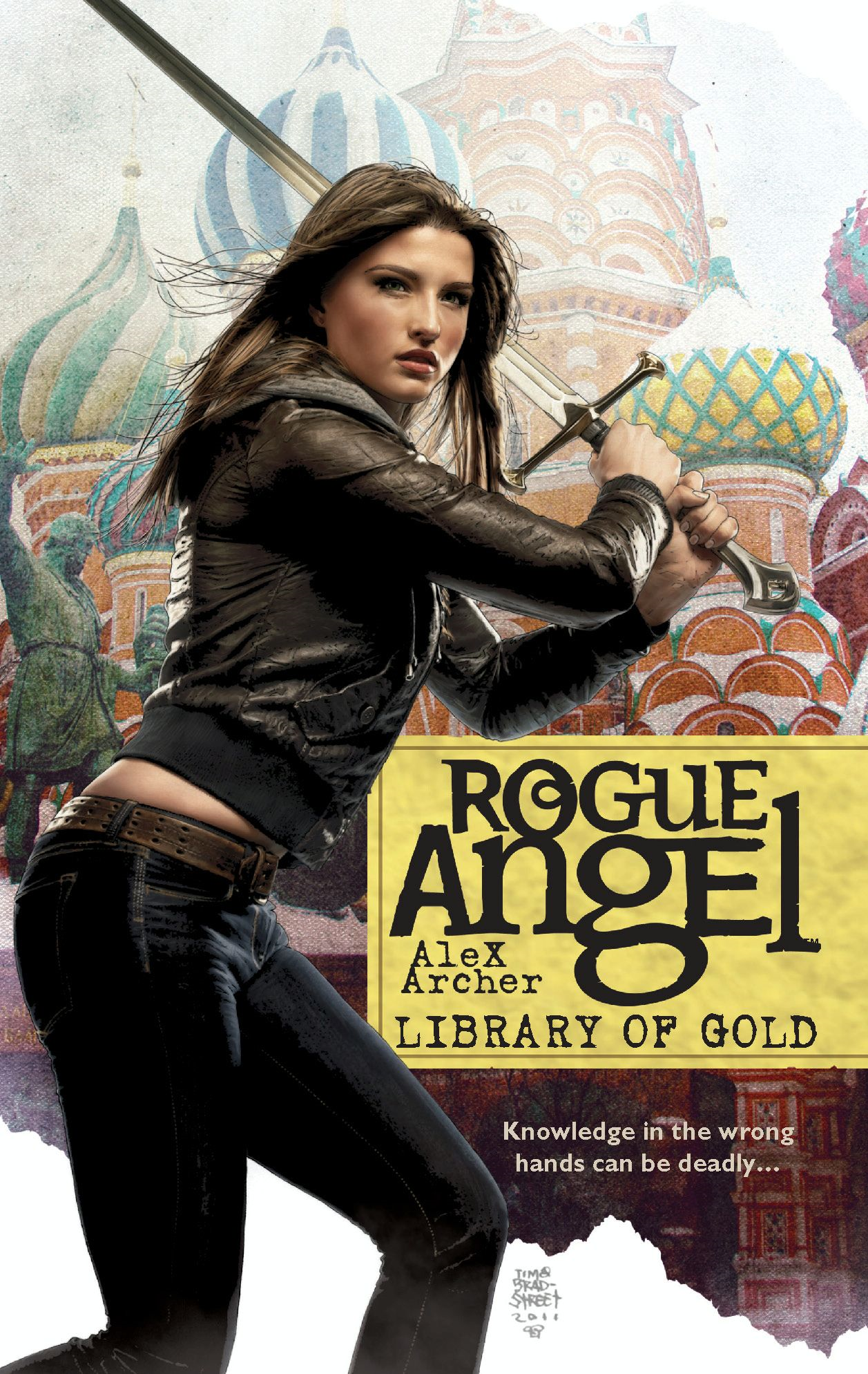 Library of Gold By: Alex Archer