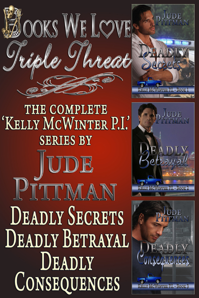 Books We Love Triple Threat - Jude Pittman