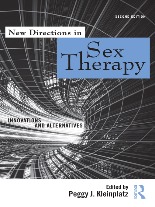 New Directions in Sex Therapy By: