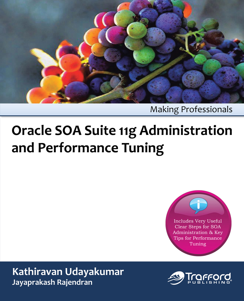 Oracle SOA Suite 11g Administration and Performance Tuning By: Kathiravan Udayakumar