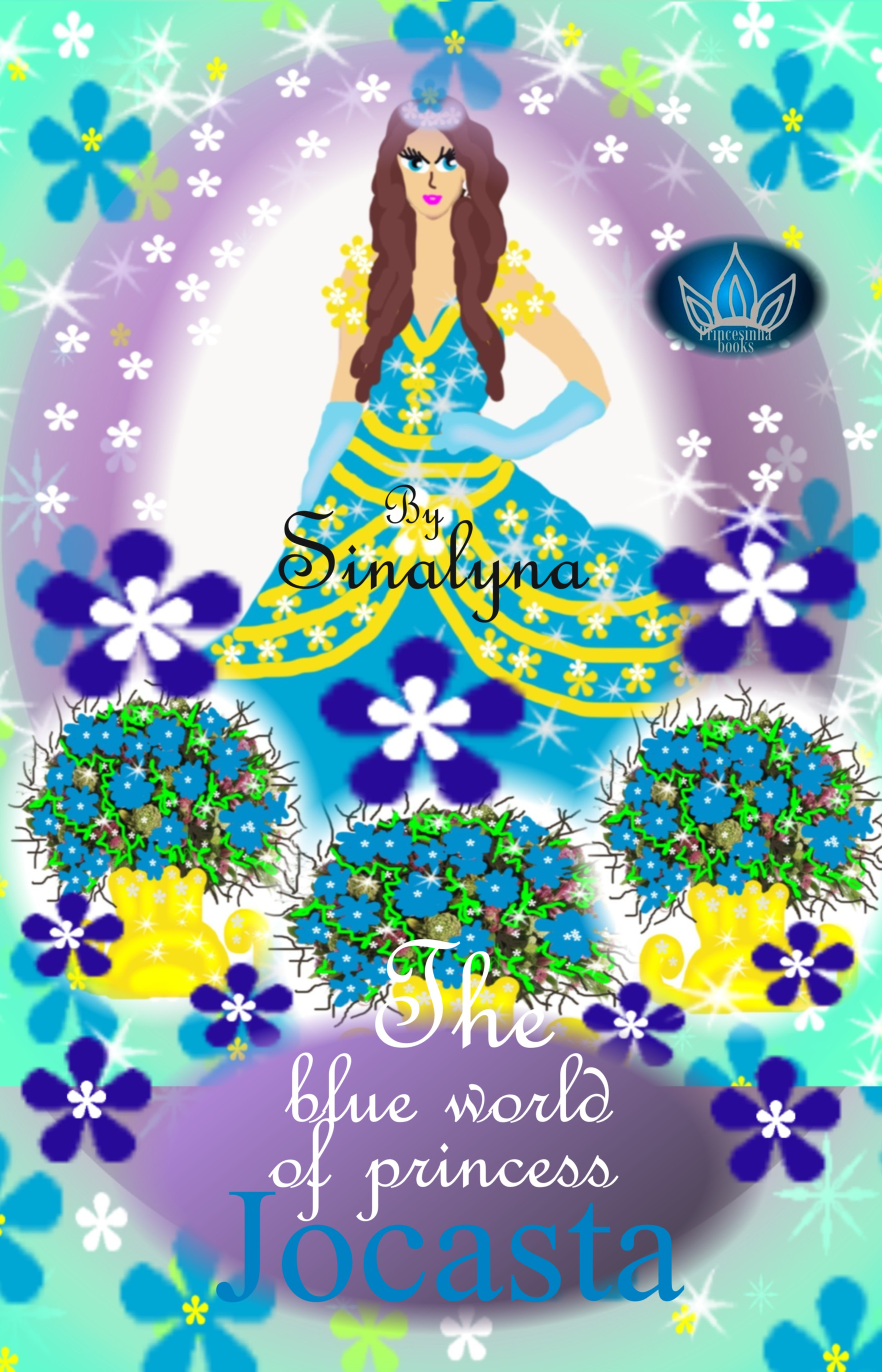 The blue world of Princess Jocasta By: Sinalyna