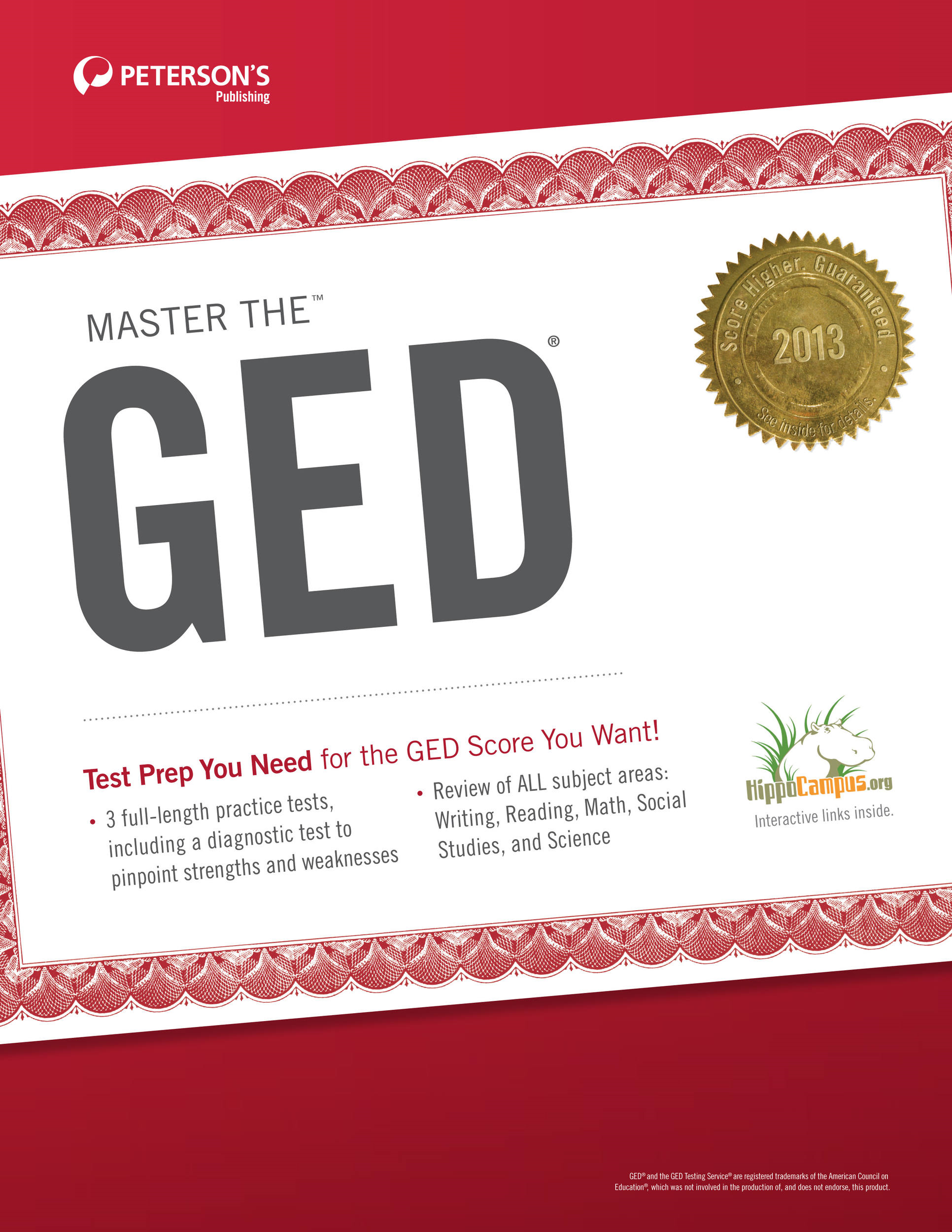 Master the GED: Determining Strengths and Weaknesses By: Peterson's
