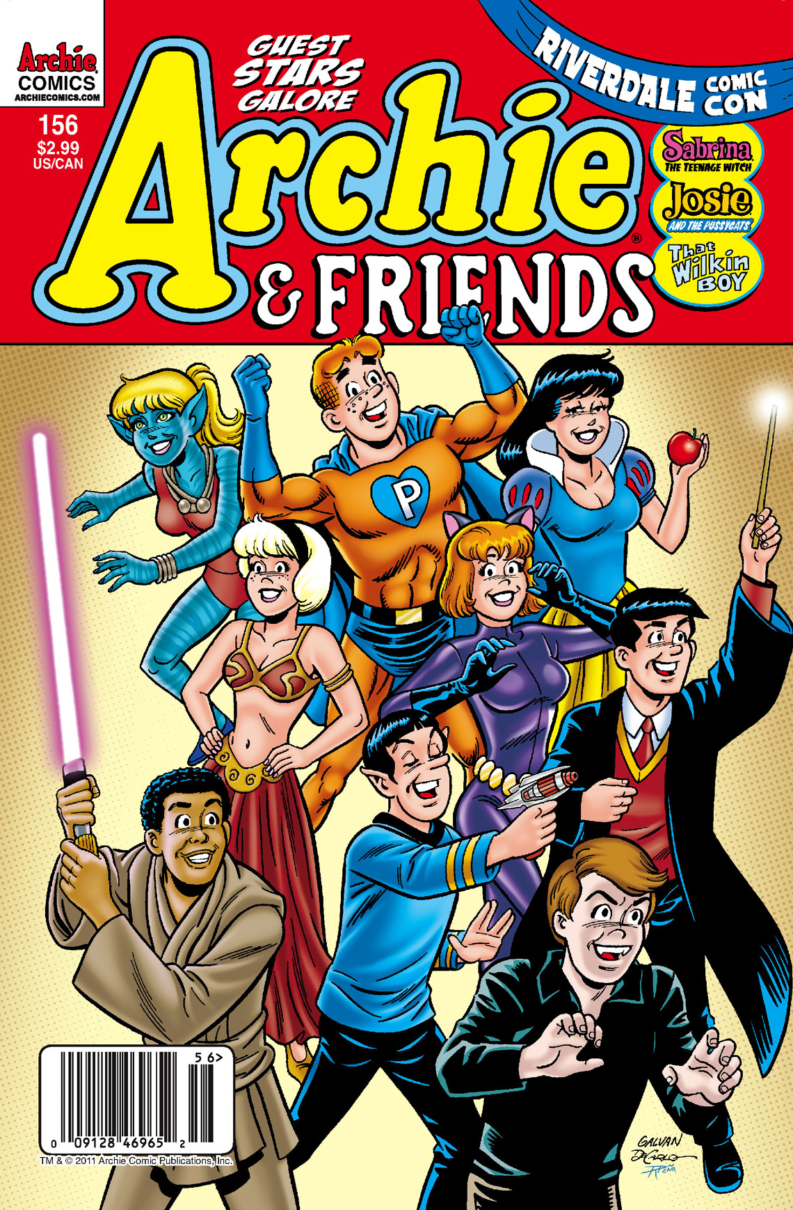 Archie & Friends #156 By: SCRIPT: Alex Segura ART AND  Cover: Bill Galvan
