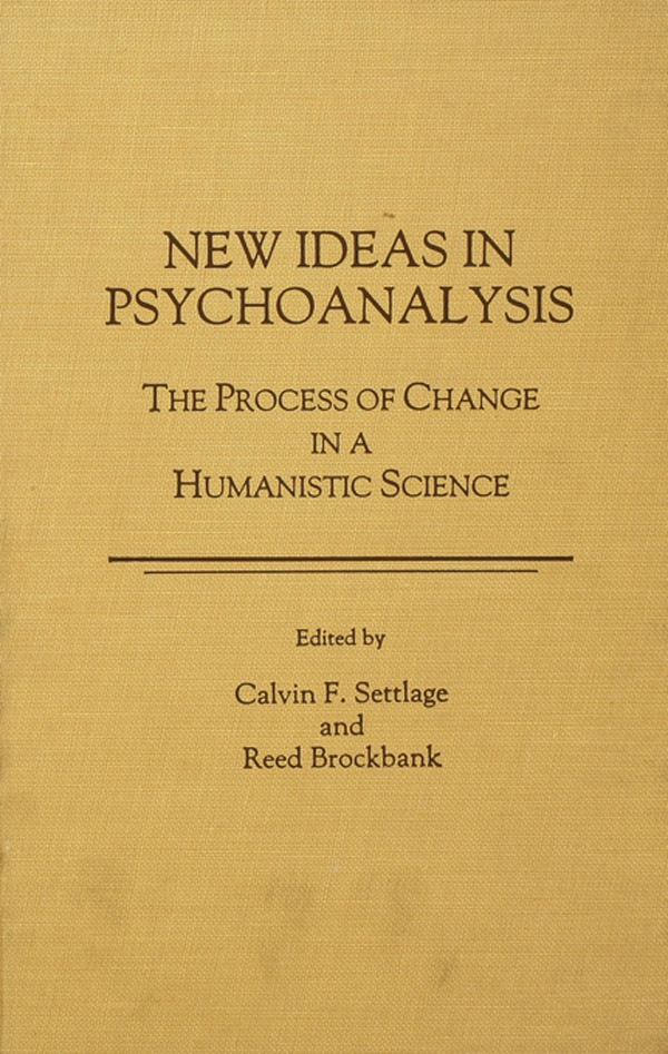 New Ideas in Psychoanalysis