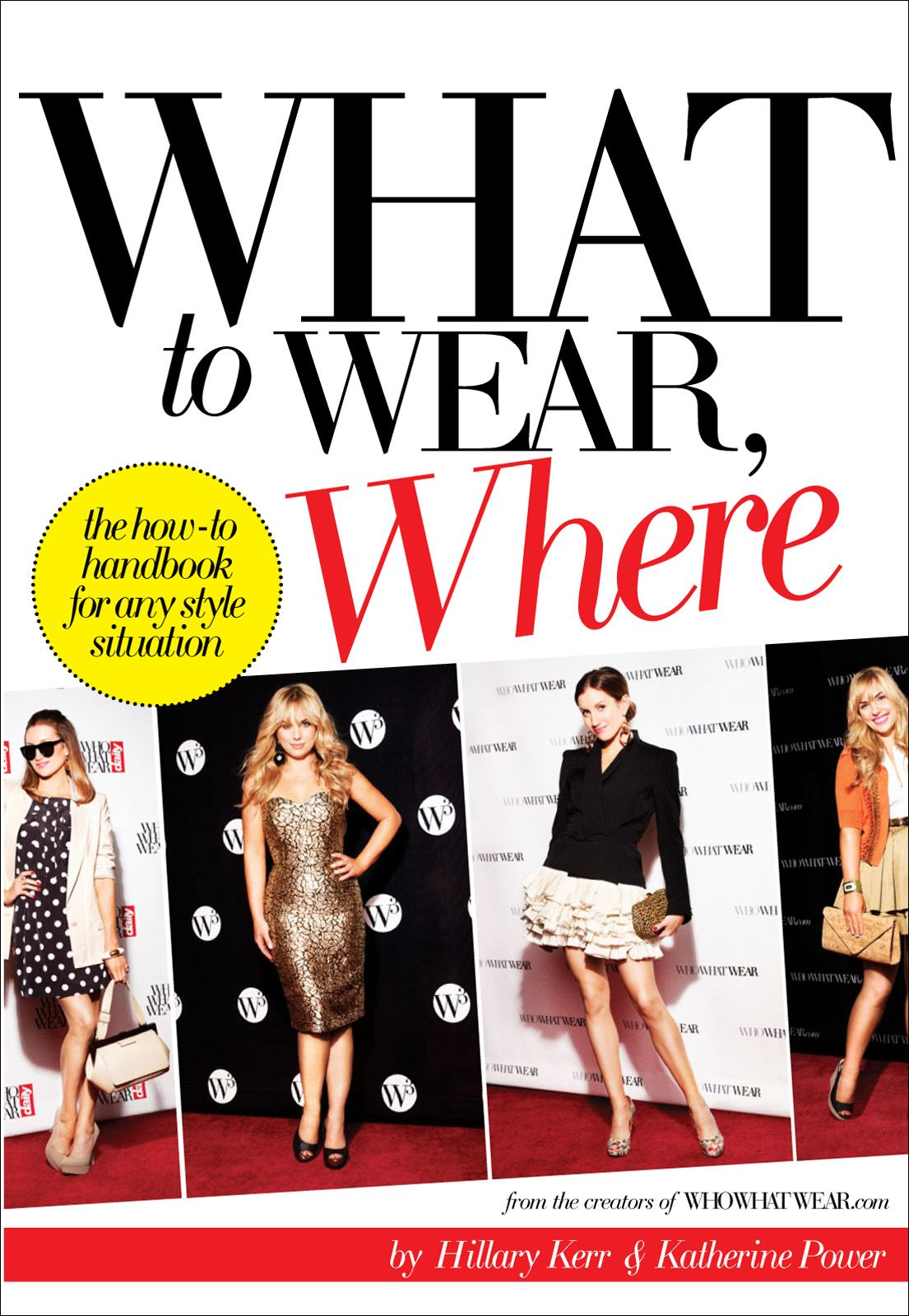What to Wear Where By: Hillary Kerr Katherine Power