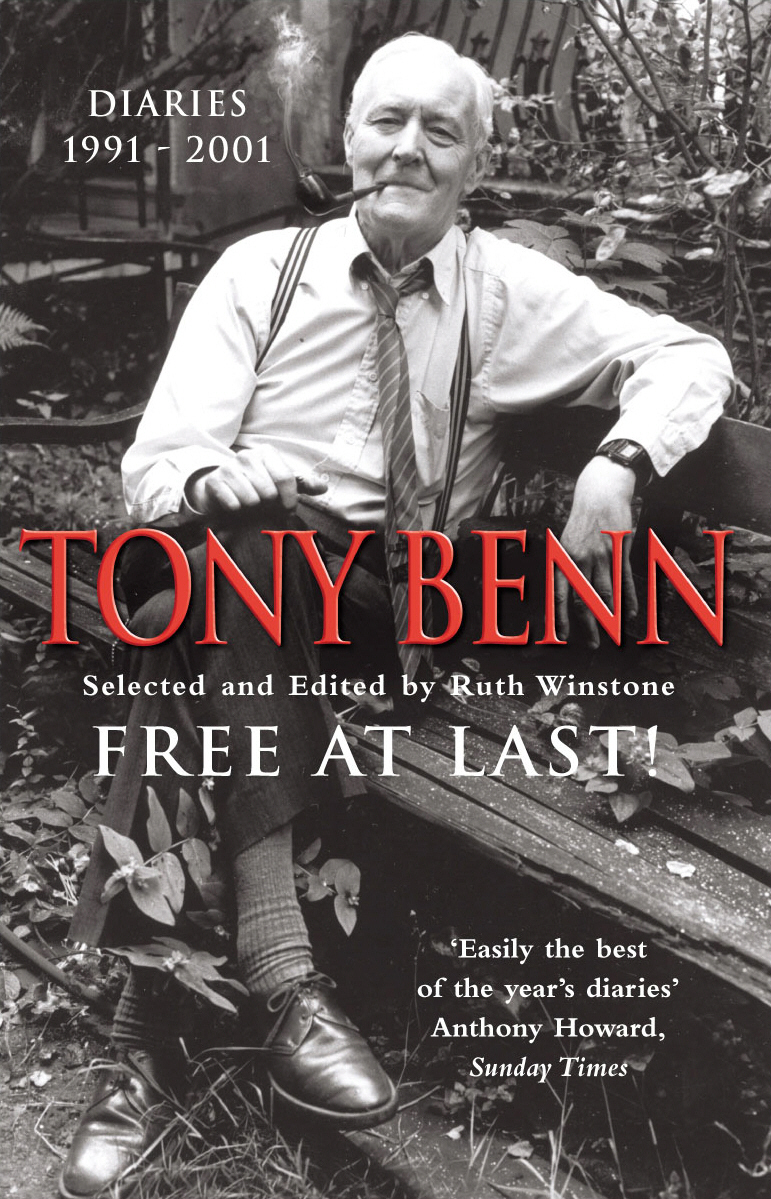 Free At Last By: Tony Benn