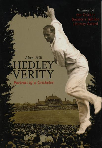 Hedley Verity Portrait of a Cricketer