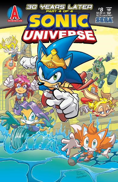 Sonic Universe #8 By: Ian Flynn, Tracy Yardley!