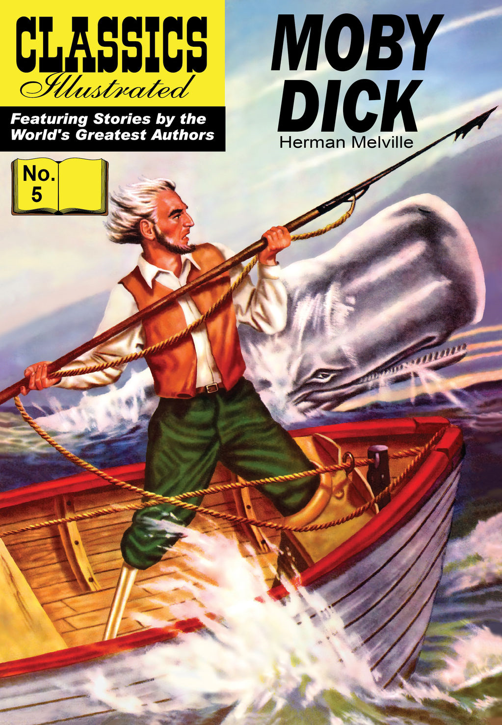 Moby Dick - Classics Illustrated #5