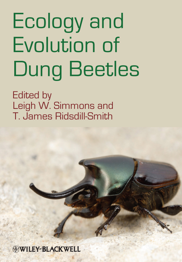 Ecology and Evolution of Dung Beetles By: