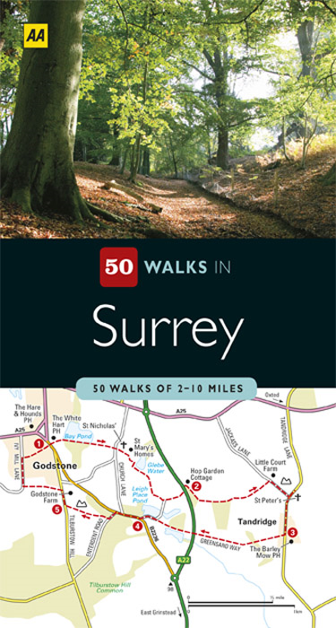 50 Walks in Surrey