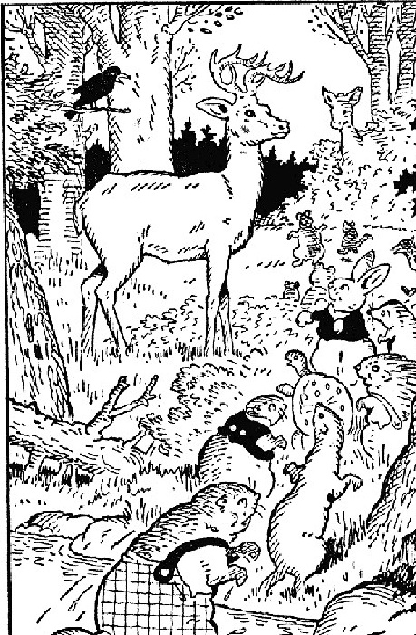 Lightfoot the Deer, Illustrated By: Thornton W. Burgess,Harrison Cady