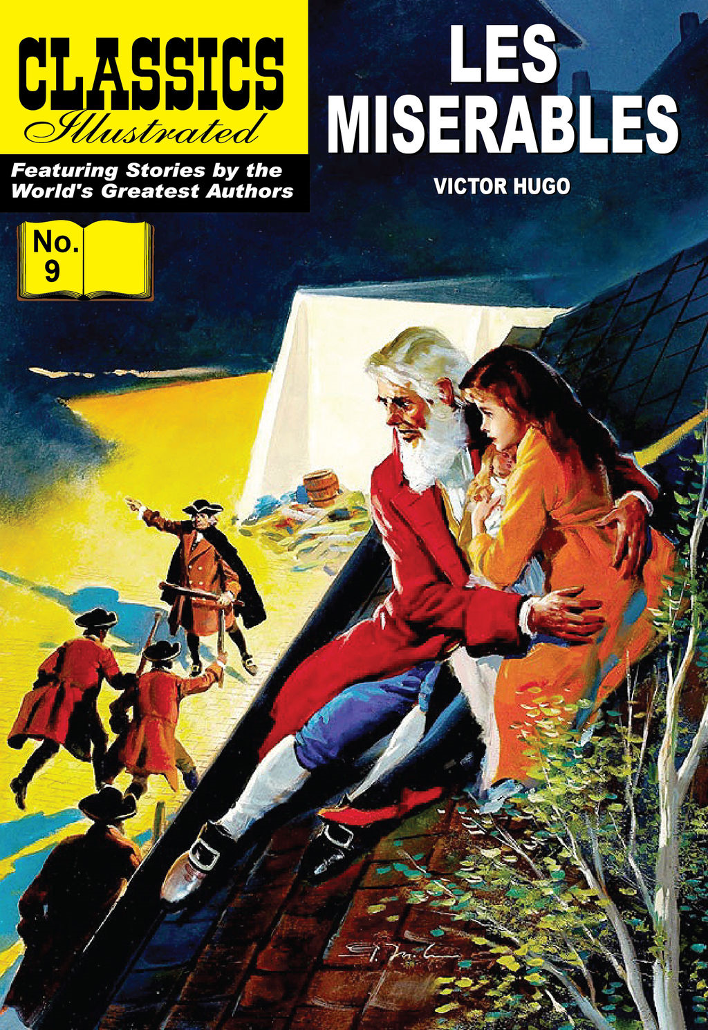 Les Miserables - Classics Illustrated #9