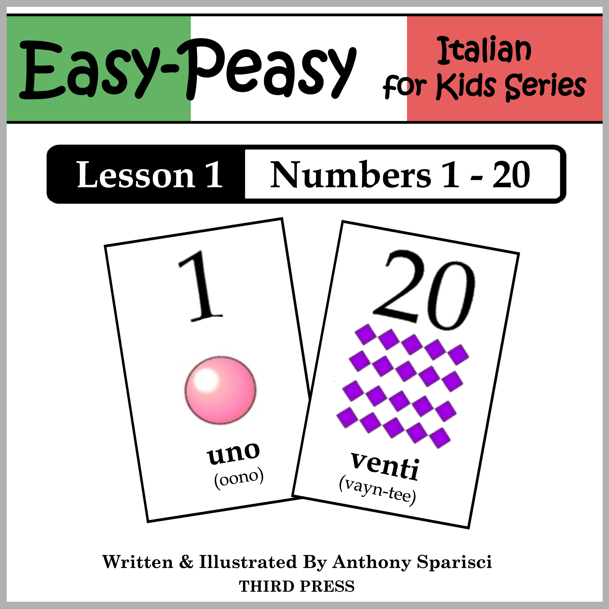 Italian Lesson 1: Numbers 1 to 20
