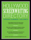Hollywood Screenwriting Directory Spring/summer Volume 4