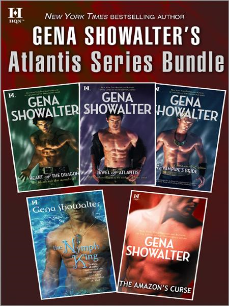 Gena Showalter's Atlantis Series Bundle By: Gena Showalter