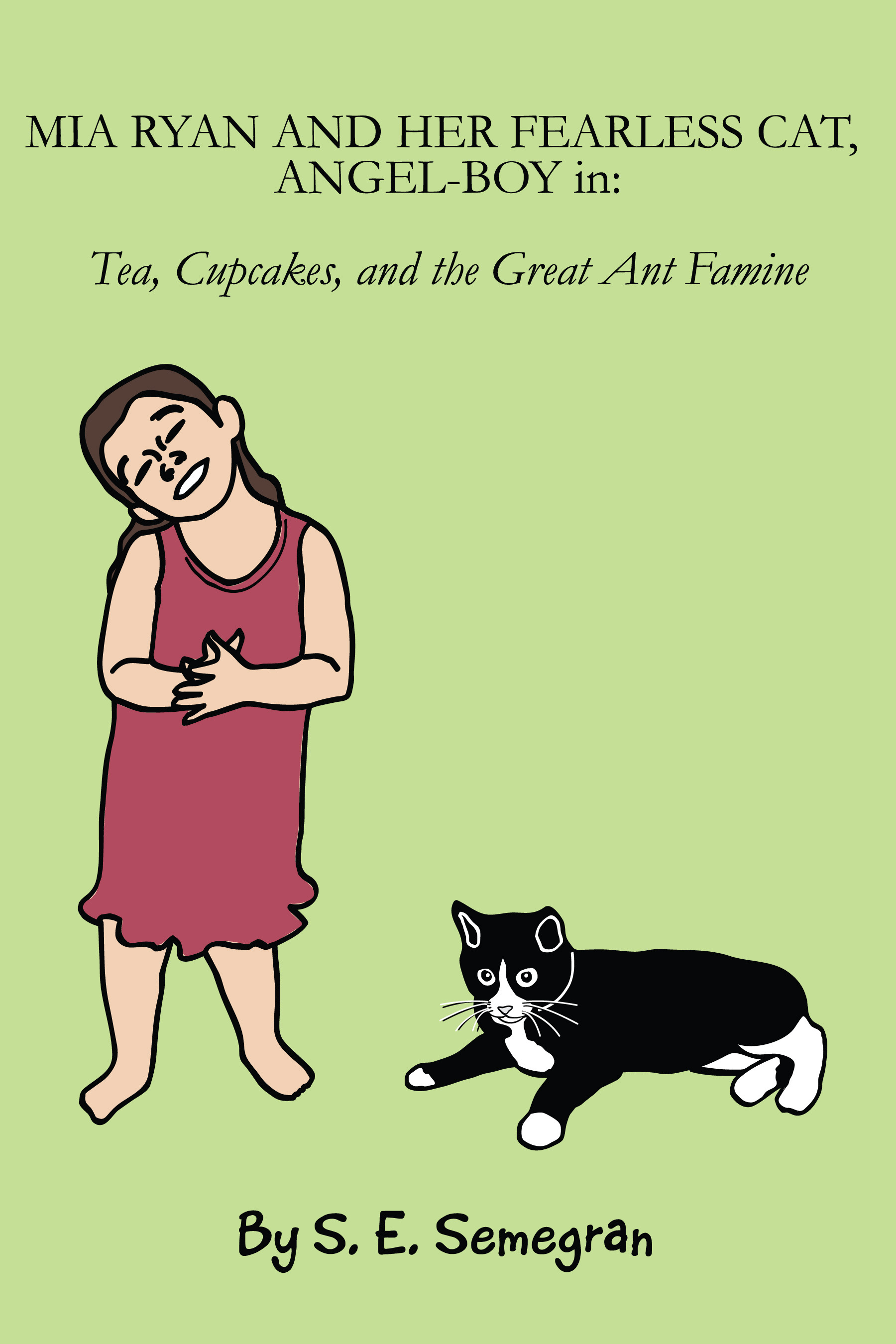 Mia Ryan And Her Fearless Cat, Angel-Boy in: Tea, Cupcakes, and the Great Ant Famine