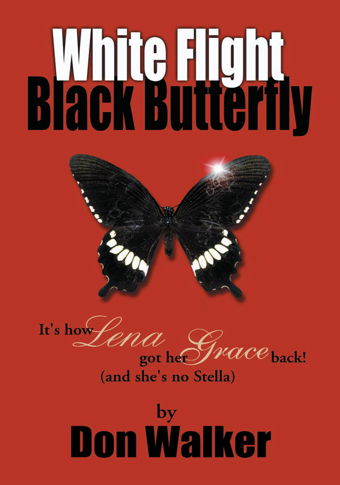 White Flight Black Butterfly