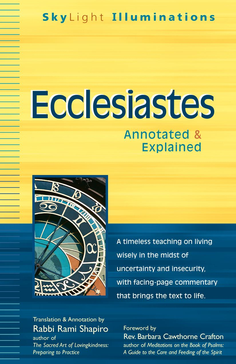 Ecclesiastes: Annotated & Explained (Skylight Illuminations Series)
