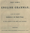 The Comic English Grammar (illustrated)