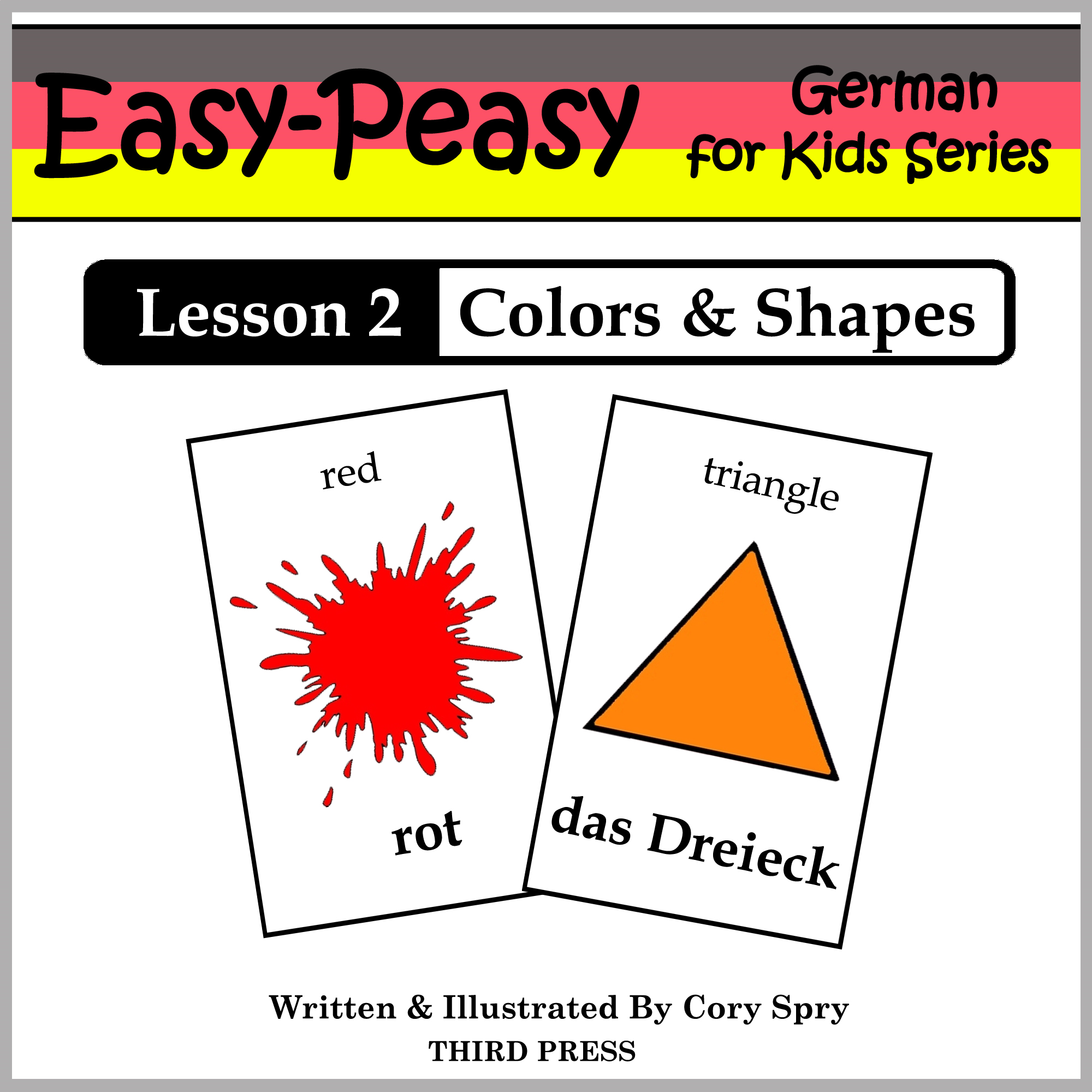 German Lesson 2: Colors & Shapes